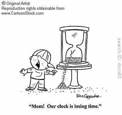 Perdiendo el tiempo... para ganar aprendiendo